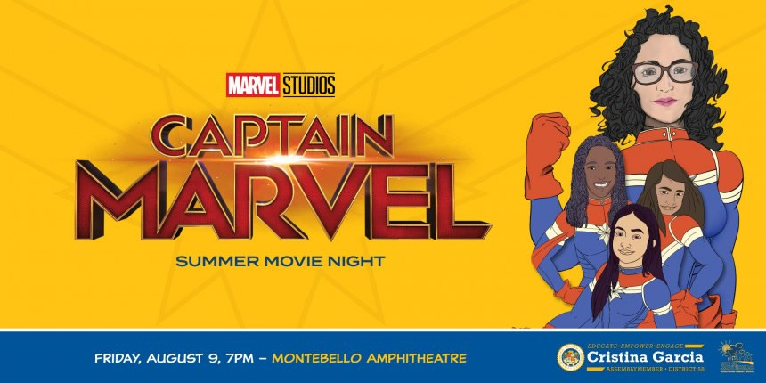 Captain Marvel Flyer