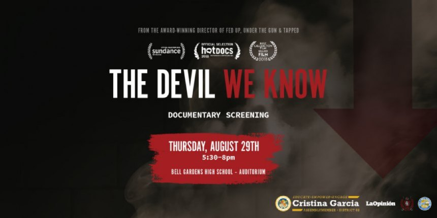 The Devil We Know flyer