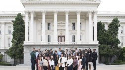 Young Legislator program participants