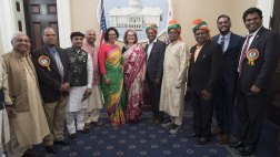 Asm. Garcia with Indian representatives